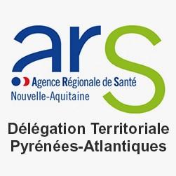 Logo ARS délégation territoriale Pyrénées-Atlantiques