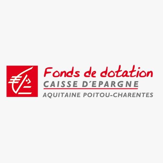 Logo Fonds de dotation Caisse d'Epargne Aquitaine Poitou-Charente